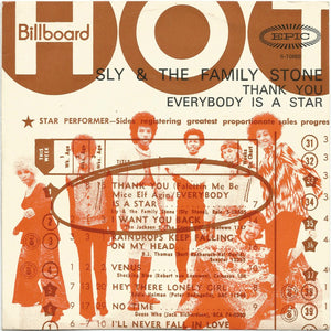 Sly & The Family Stone - Thank You (Falettinme Be Mice Elf Agin) / Everybody Is A Star