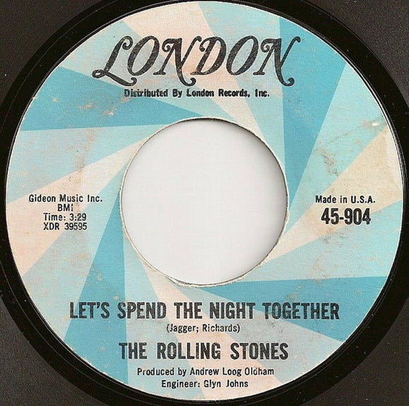 The Rolling Stones - Let's Spend The Night Together / Ruby Tuesday