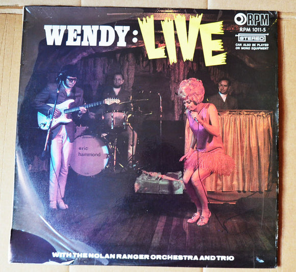 Wendy: Live With The Nolan Ranger Orchestra And Trio
