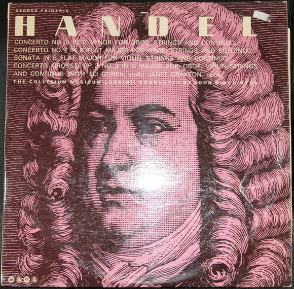 Handel: Concerti And Sonata