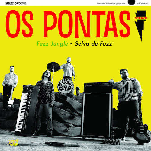 Os Pontas - Fuzz Jungle • Selva De Fuzz