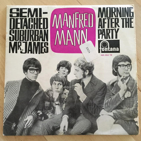 Manfred Mann - Semi-Detached Suburban Mr. James