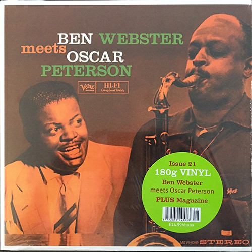 Ben Webster meets Oscar Peterson - Ben Webster Meets Oscar Peterson