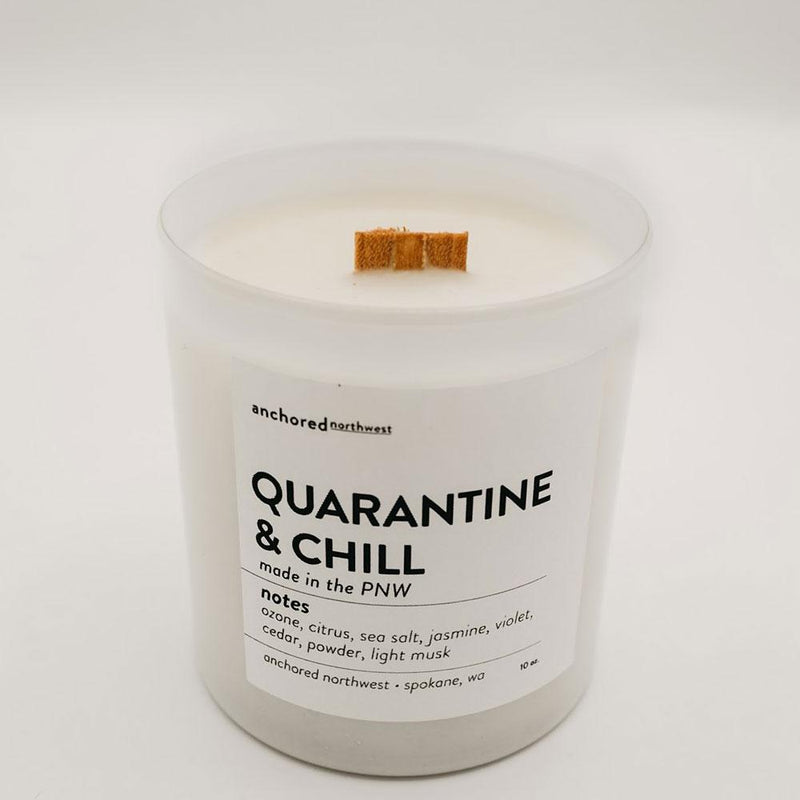 Anchored NW Quarantine & Chill Candle - re-souL