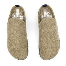 Load image into Gallery viewer, Asportuguesas Men Mule Slipper - Taupe - re-souL