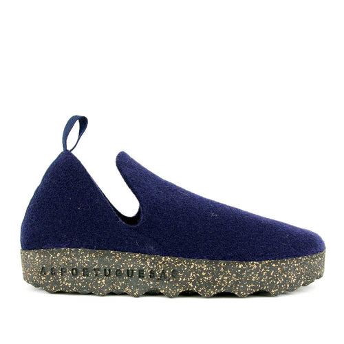 Asportuguesas Men Pull-On Slipper - Navy - re-souL