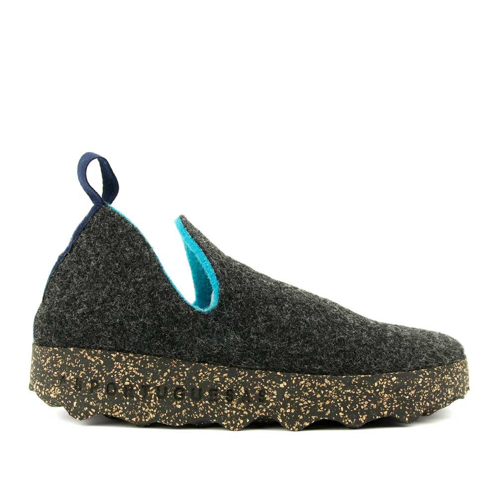 Asportuguesas Women Pull-On Slipper - Charocal - re-souL