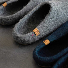 Load image into Gallery viewer, Baabushka Men Slipper - Charcoal Grey - re-souL