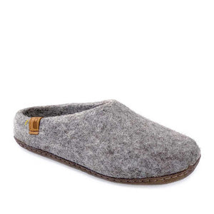 Baabushka Men Slipper - Light Grey - re-souL