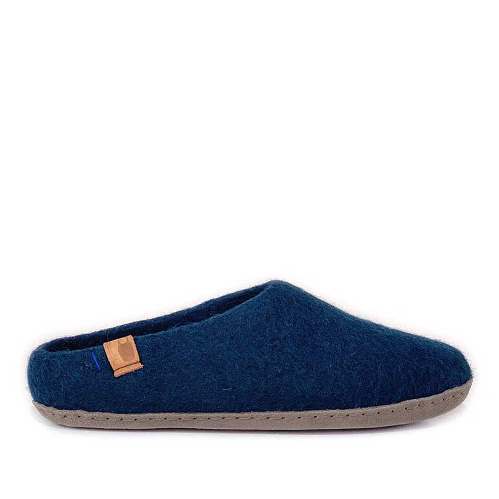 Baabushka Men Slipper - Navy - re-souL