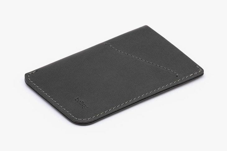 Bellroy Card Sleeve - Charcoal - re-souL