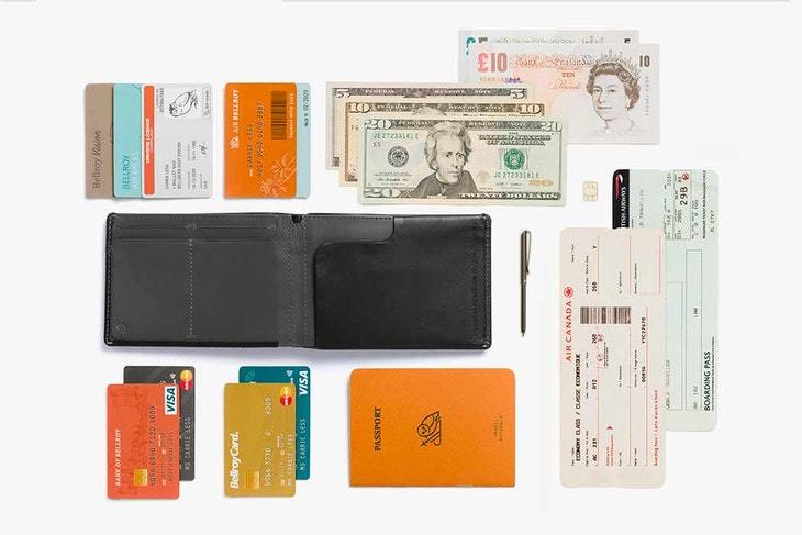 Bellroy Travel Wallet - Black - re-souL
