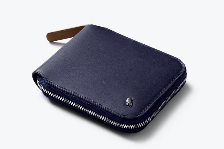 Bellroy Zip Wallet - Navy - re-souL