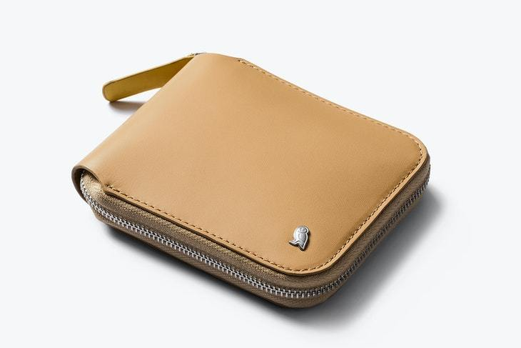 Bellroy Zip Wallet - Tan - re-souL
