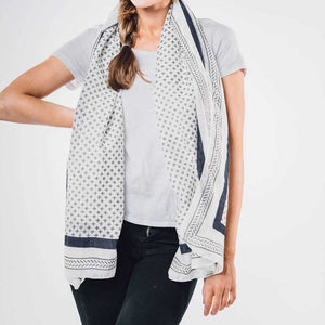 Bloom & Give Santorini Scarf - re-souL