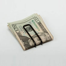 Load image into Gallery viewer, Craighill Square Money Clip - Carbon Black - re-souL