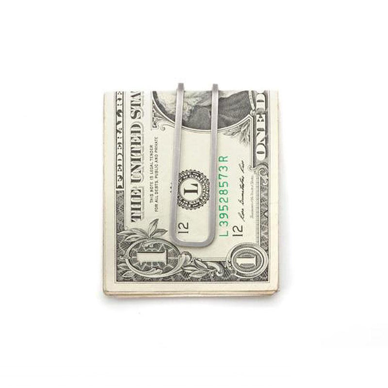 Craighill Square Money Clip - Steel - re-souL