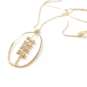 Dottyspeck Gold Vermeil Seed Necklace - re-souL