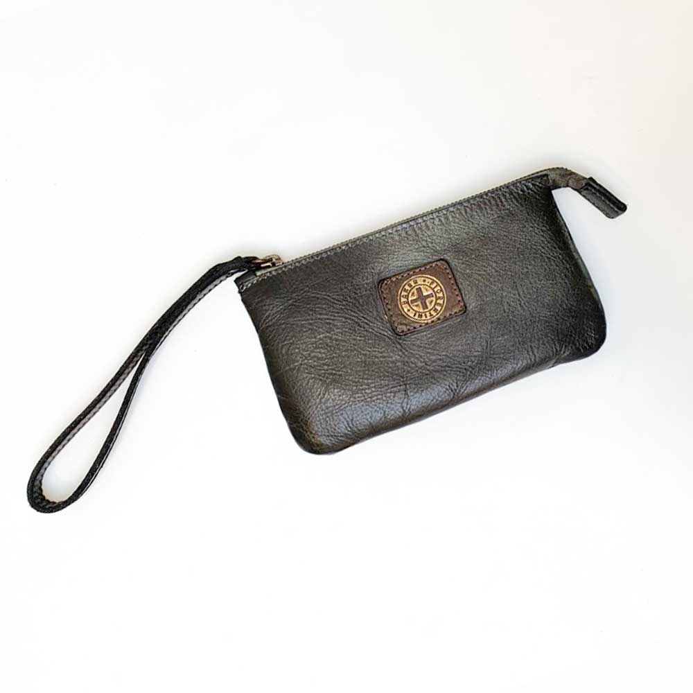 F+B Wristlet - Black Metallic - re-souL