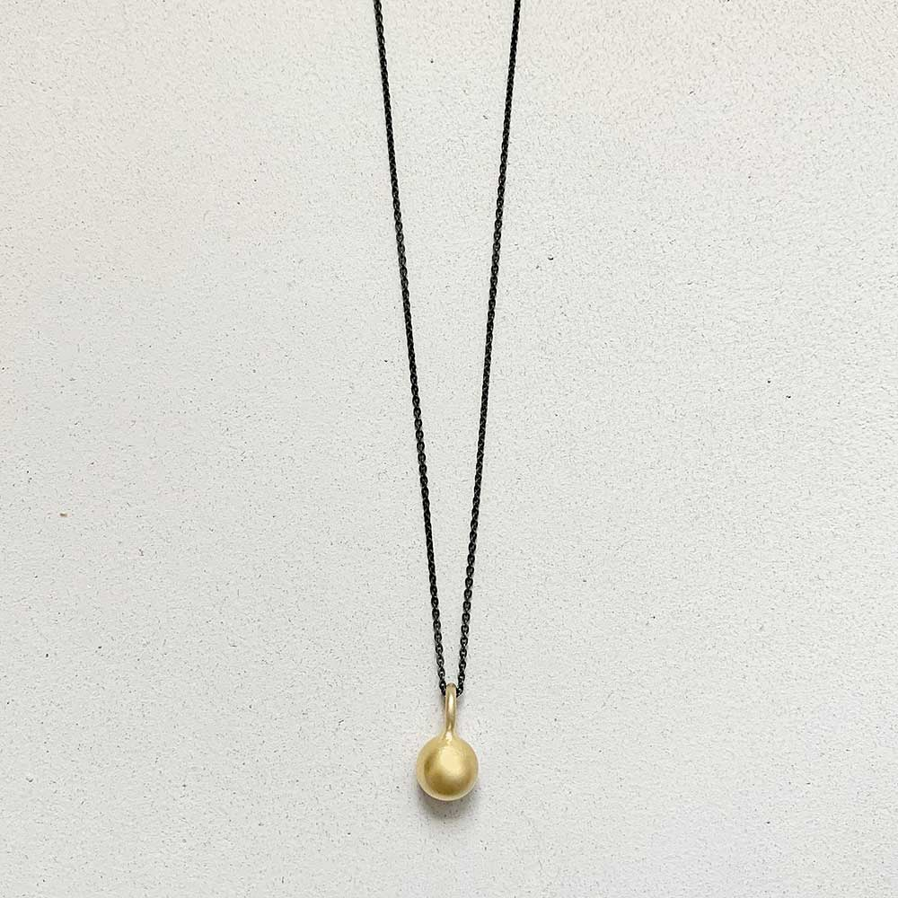 Iris Guy Mars Necklace - Oxidized/Gold - re-souL