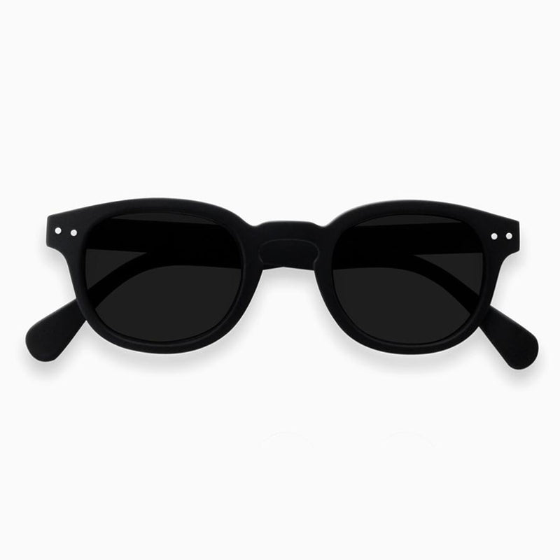 IZIPIZI #C Sunglasses - Black - re-souL