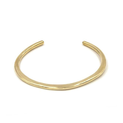 Material Wit Brass Shoreline Cuff - re-souL