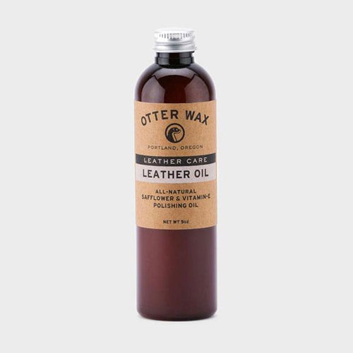 Otter Wax Leather Oil 5 oz. - re-souL