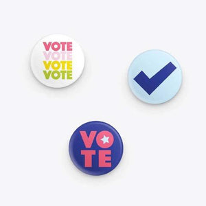 Public School Vote Button Set - re-souL