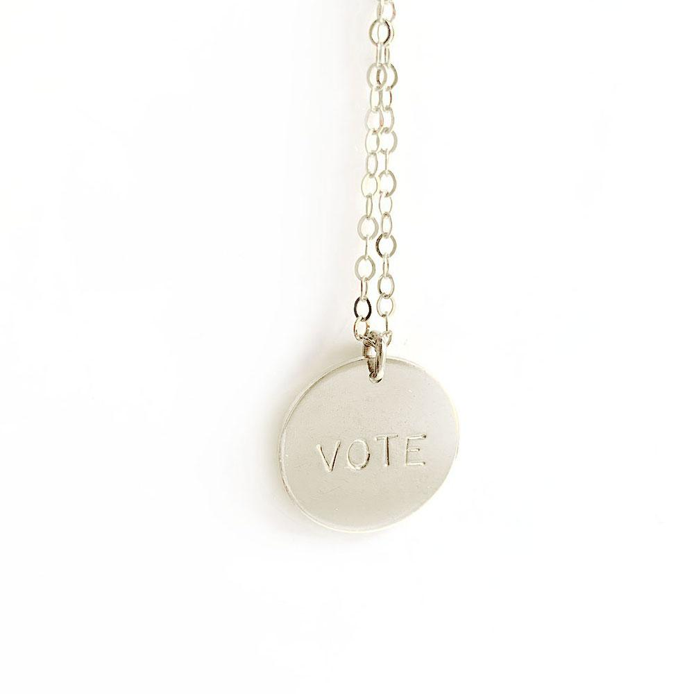 Selah Vie Vote Necklace - re-souL