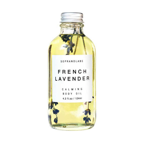 SopranoLabs French Lavender Body Oil - re-souL