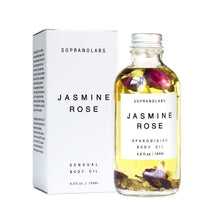 Load image into Gallery viewer, SopranoLabs Jasmine Rose Body Oil - re-souL
