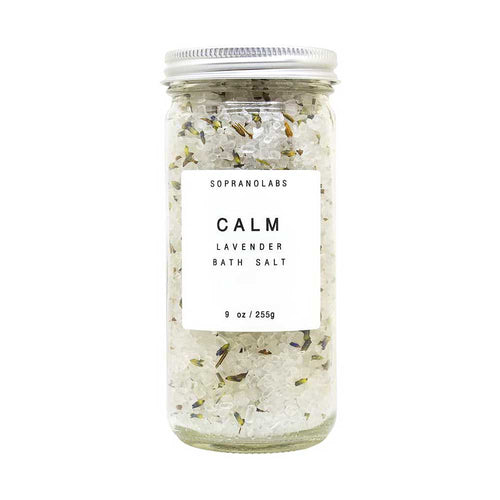 SopranoLabs Lavender Calm Bath Salts - re-souL