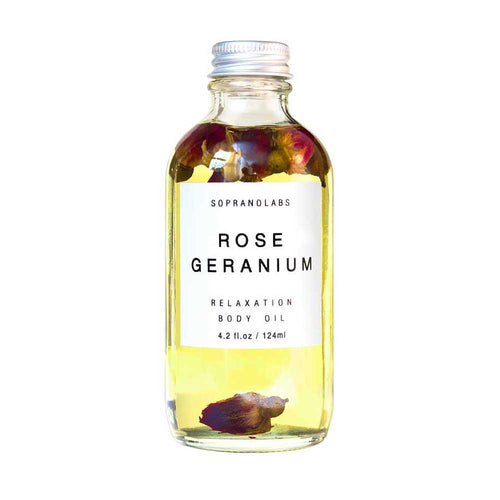 SopranoLabs Rose Geranium Body Oil - re-souL