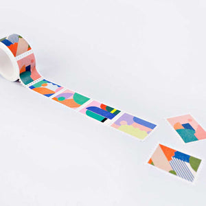 The Completist Stamp Washi Tape - Miami Mix - re-souL