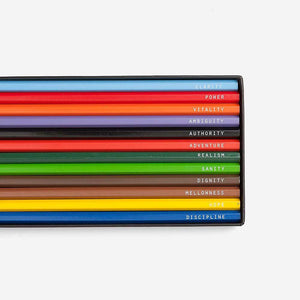 The School of Life Psychology of Colour Pencil Set - re-souL