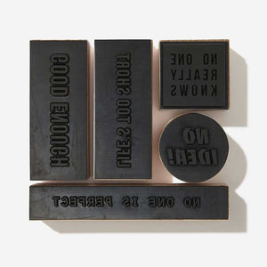 The School of Life Stamps of Encouragement - re-souL