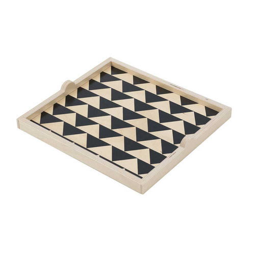 Wolfum Jett Square Tray - re-souL