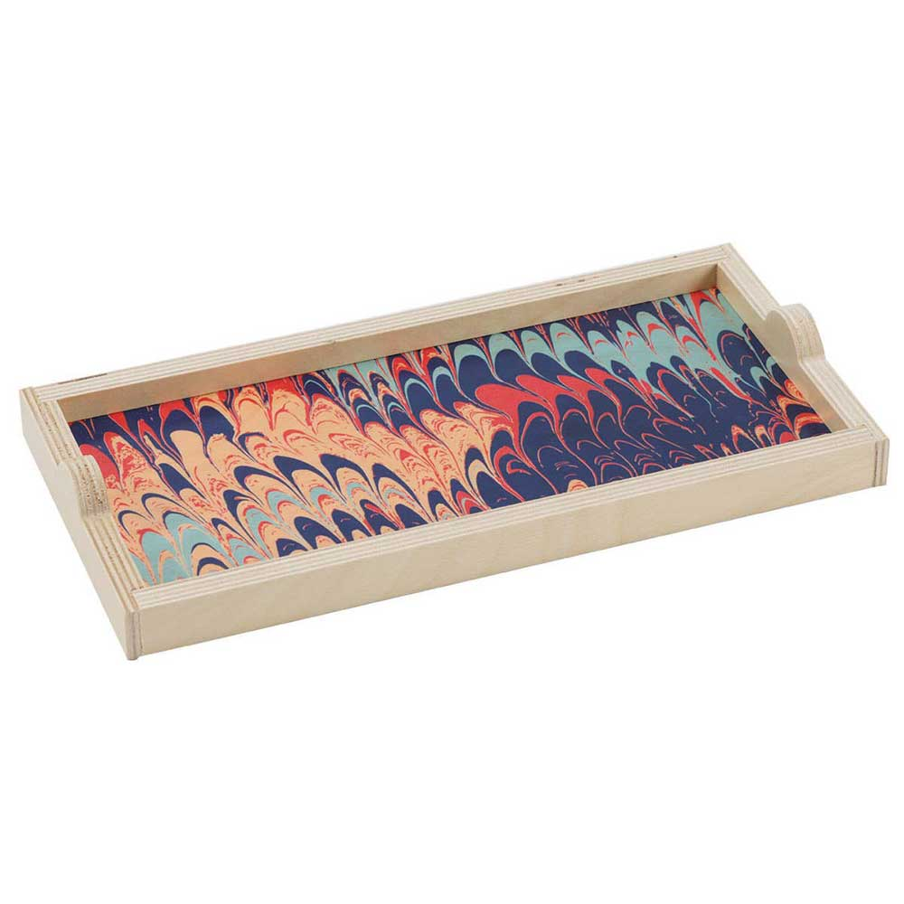 Wolfum Navy Marble Mini Tray - re-souL