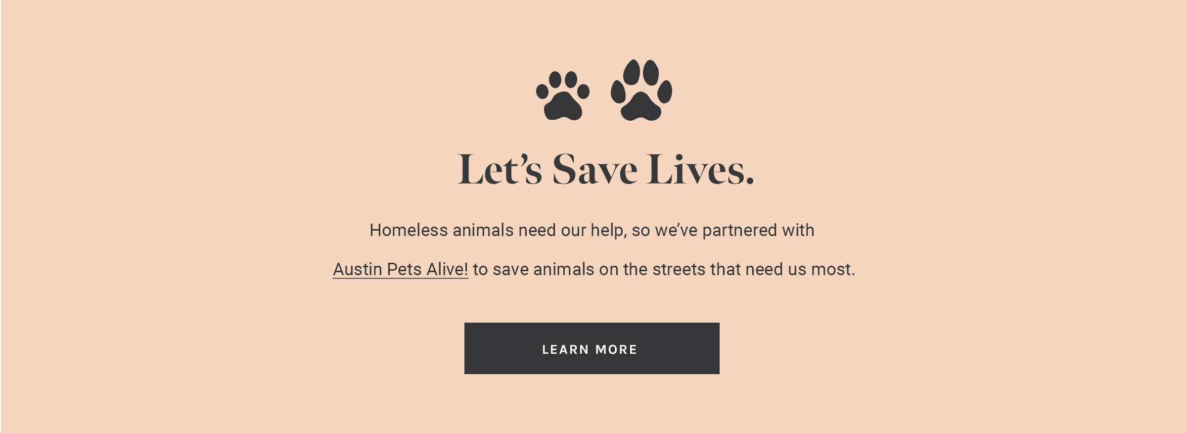 How to get 10% of your purchase donated to Austin Pets Alive!