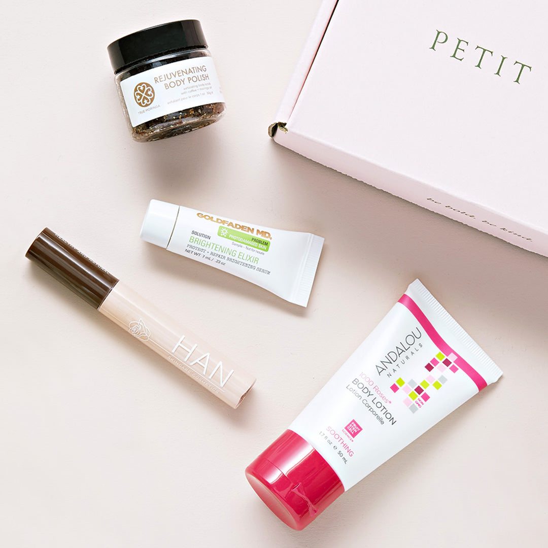 Beauty Box Image with 4 Products