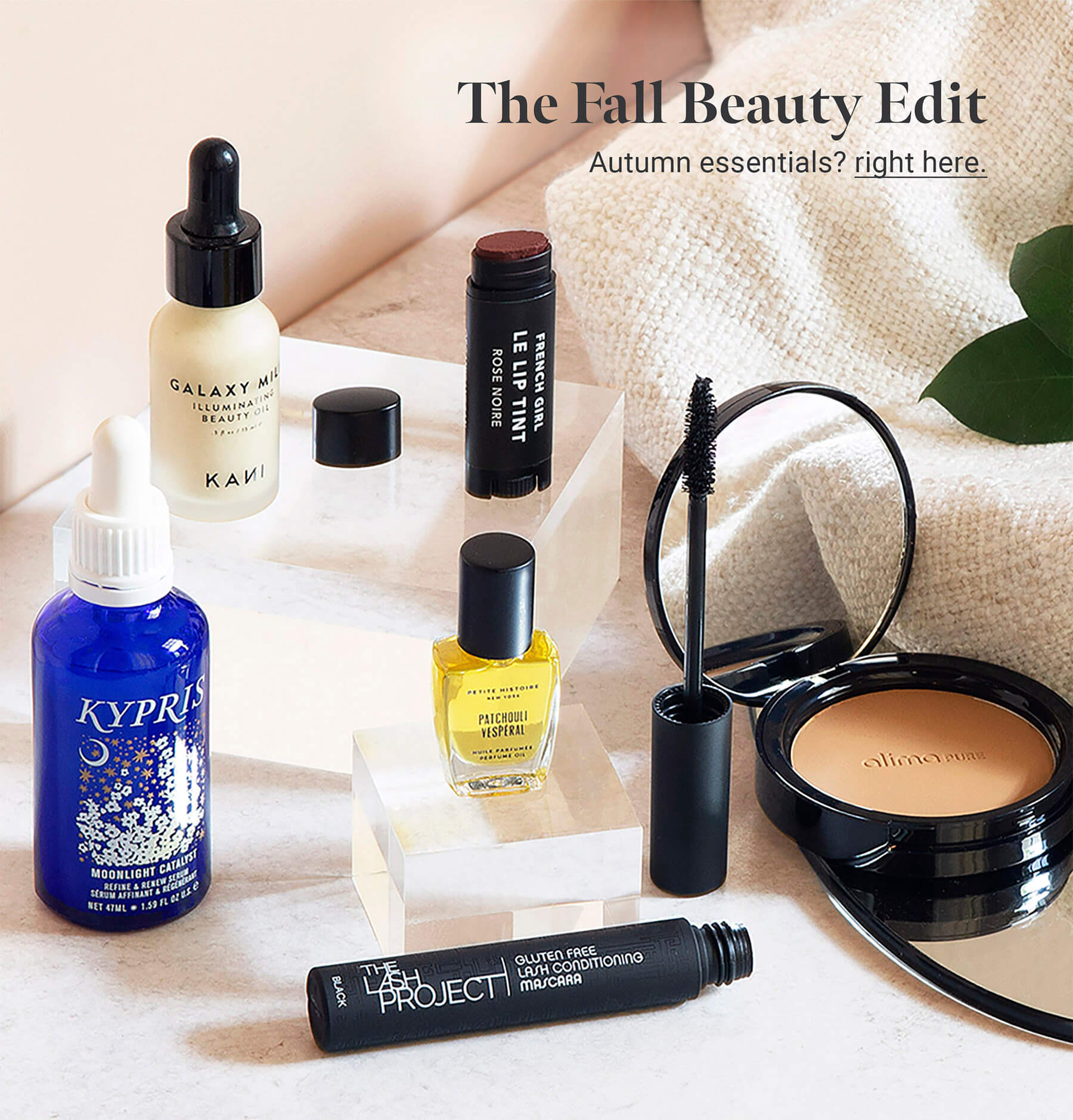 Fall Beauty collection