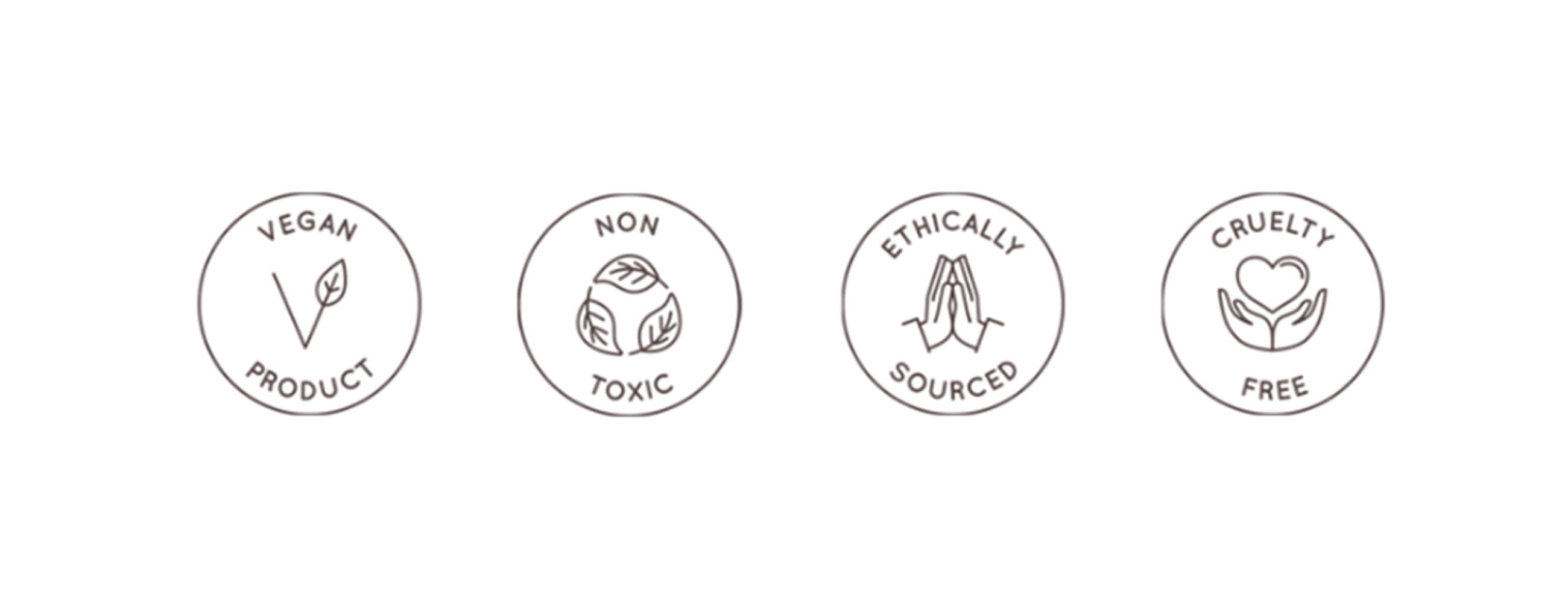 vegan and cruelty-free and non-toxic beauty standard