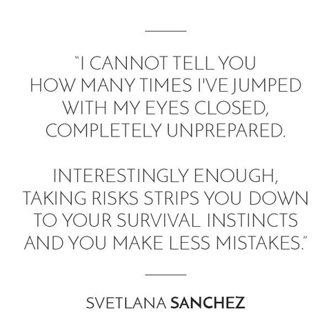 Svetlana Interview Quote