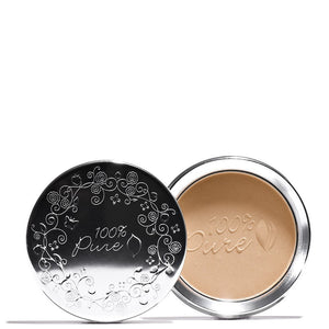 100% Pure | Fruit Pigmented Healthy Skin Foundation Powder Golden Tan