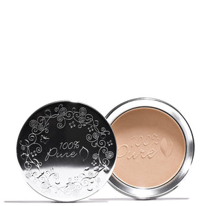 Fruit Pigmented® Powder Foundation .32 oz | 9 g / Peach Bisque by 100% Pure at Petit Vour