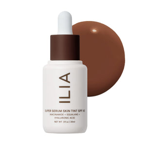 Super Serum Skin Tint SPF 40 Roque ST18 by ILIA Beauty at Petit Vour