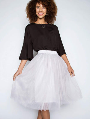 The Carrie Skirt  by Garderobe at Petit Vour