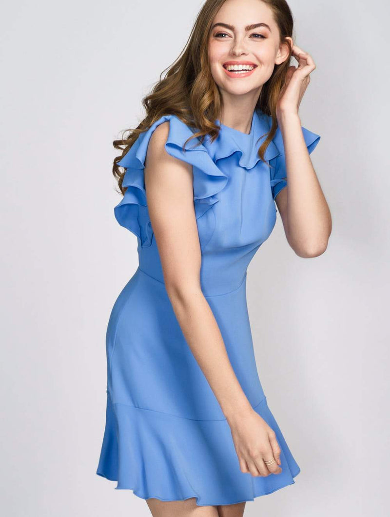 Amanda Uprichard Emery Dress Chambray