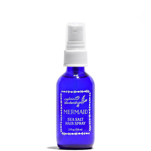 Mermaid Sea Salt Hair Spray 2 oz by Captain Blankenship at Petit Vour