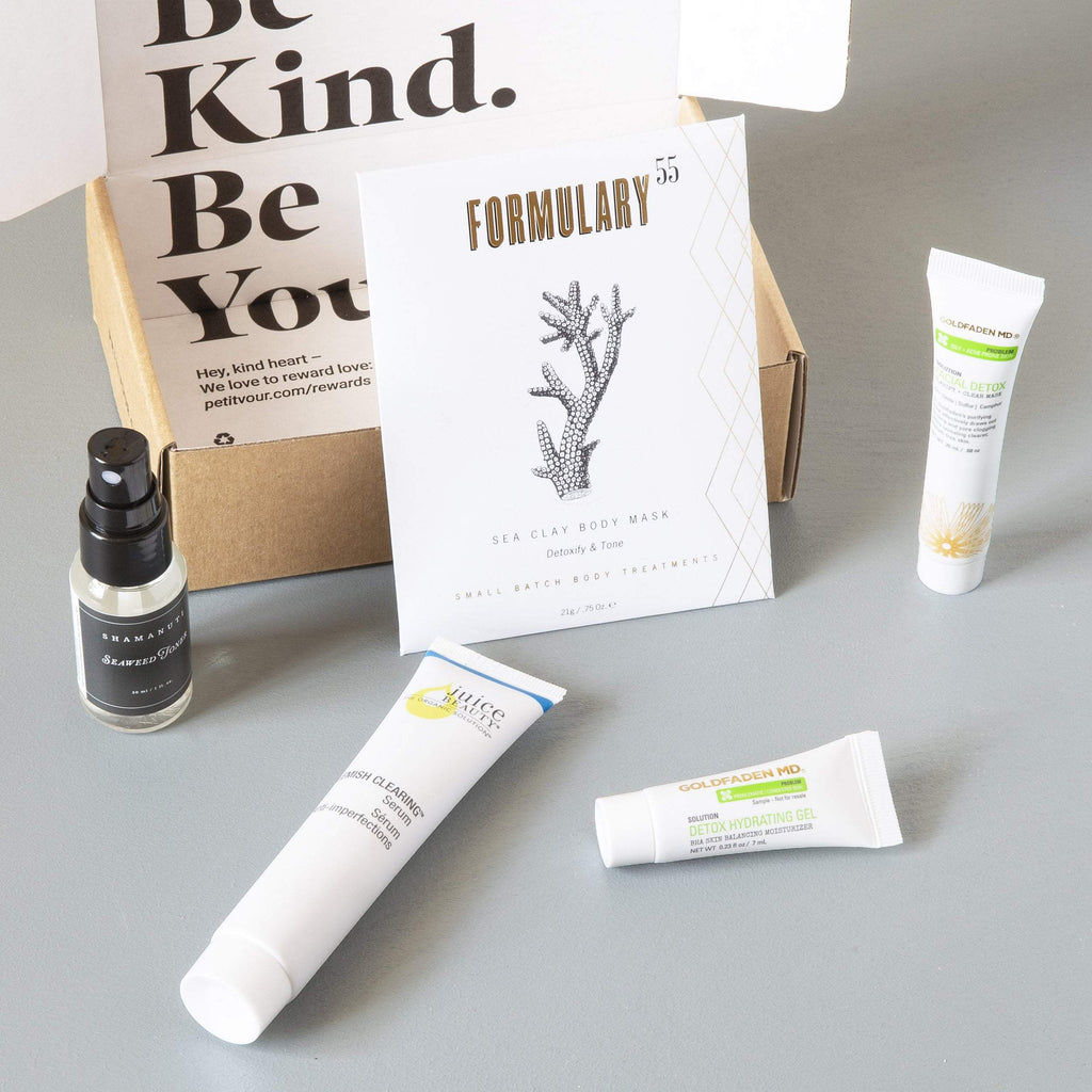 Limited Edition: The Detox Kit  by Petit Vour at Petit Vour